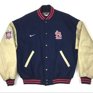 Cardinals MLB Nike baseball jacket letterman